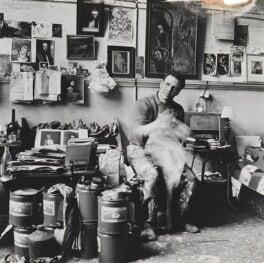 Frank Auerbach, by Lord Snowdon - NPG P797(3)