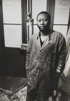 Frank Bowling, by Lord Snowdon, 21 March 1962 - NPG  - © Armstrong Jones