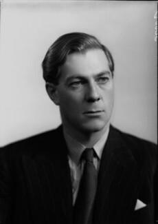 Charles Melville McLaren, 3rd Baron Aberconway, by Vandyk - NPG x98188