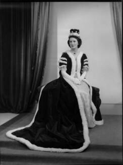Nancy Constance (née Spicer, later Whitehead), Lady Bagot, by Navana Vandyk - NPG x98947