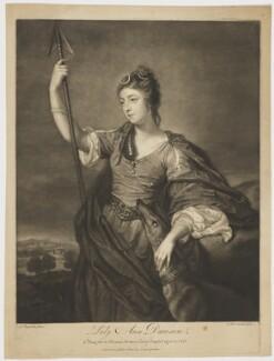 Lady Anne Dawson (née Fermor), by James Macardell, after  Sir Joshua Reynolds - NPG D34833