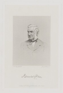 James Dear, by Joseph Brown, published by  Alfred Head Baily, after  John Jabez Edwin Mayall - NPG D34842