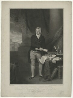 Henry Grattan, by Edward Scriven, published by and after  Alexander Pope - NPG D34802