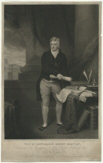 Henry Grattan, by Edward Scriven, published by and after  Alexander Pope - NPG D34803