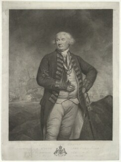 Thomas Graves, 1st Baron Graves, by Francesco Bartolozzi, after  James Northcote - NPG D34805