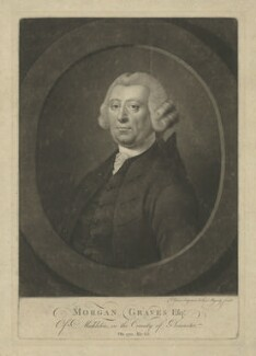 Morgan Graves, by Valentine Green - NPG D34806