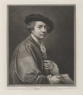 Sir Joshua Reynolds, by and published by John Keyse Sherwin, after  Sir Joshua Reynolds, 1784 (1775) - NPG D34871 - © National Portrait Gallery, London