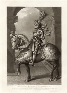 Maximilian I, Holy Roman Emperor, by Charles Turner, published by  Samuel Woodburn, after  Hans Burgkmair - NPG D34885