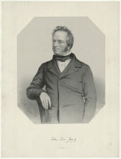 John Edward Gray, by Thomas Herbert Maguire, printed by  M & N Hanhart - NPG D34897