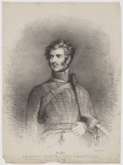 Thomas Philip de Grey, 2nd Earl de Grey, by Unknown artist, printed by  Charles Joseph Hullmandel - NPG D34846