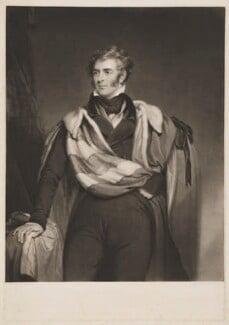 Thomas Philip de Grey, 2nd Earl de Grey, by William Brett, by  Samuel Cousins, after  William Robinson, (1827) - NPG D34849 - © National Portrait Gallery, London