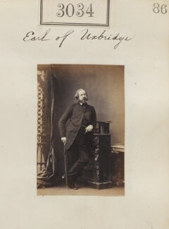 Henry William George Paget, 3rd Marquess of Anglesey, by Camille Silvy - NPG Ax52437