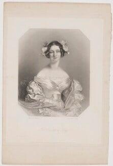 Henrietta Frances (née Cole), Countess de Grey, by Richard Austin Artlett, after  Alfred Edward Chalon, published 1839 - NPG D34850 - © National Portrait Gallery, London
