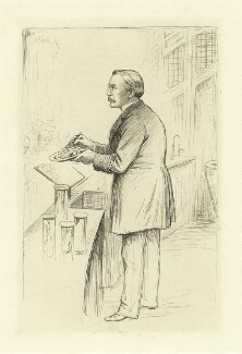 William Smith Greenfield, by William Brassey Hole - NPG D34908