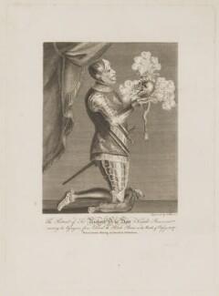 Sir Richard De la Bere, by T. Bonnor, after  Unknown artist - NPG D34858
