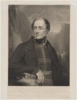 Sir Henry Thomas de la Beche, by William Walker, after  Henry Pierce Bone - NPG D34856