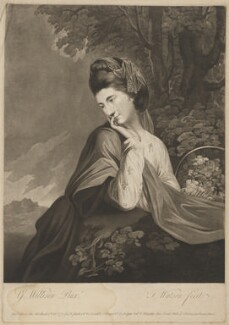 Miss Dempster, by and published by Thomas Watson, and published by  Henry Parker, and  Samuel Hooper, and  Walter Shropshire, after  George Willison - NPG D34868