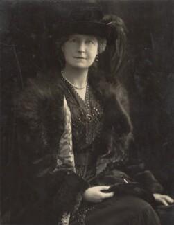 Hon. Mary Florentina Hughes, by H. Walter Barnett - NPG x45434
