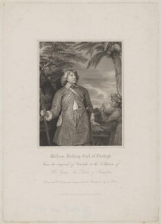 William Feilding, 1st Earl of Denbigh, by Thomas Anthony Dean, published by  Harding & Lepard, after  William Derby, after  Sir Anthony van Dyck - NPG D34870