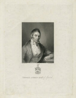 Thomas Green the Younger, by William Henry Worthington, after  William Mineard Bennett - NPG D34911