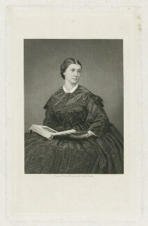 Rose O'Neal Greenhow (Mrs Greenhow), by Joseph Brown, published by  Richard Bentley - NPG D34913