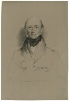 George Bellas Greenough, by Maxim Gauci, printed by  Graf & Soret, after  Eden Upton Eddis - NPG D34914