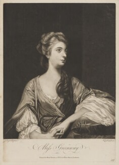 Elizabeth Napier (née Greenway), by Richard Purcell (H. Fowler, Charles or Philip Corbutt), published by  Robert Sayer, after  Sir Joshua Reynolds, 1765-1766 (1765) - NPG D34916 - © National Portrait Gallery, London