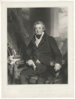 Pascoe Grenfell, by Samuel Cousins, after  Sir Martin Archer Shee - NPG D34921