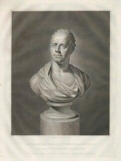 William Wyndham Grenville, 1st Baron Grenville, by James Fittler, after  Unknown sculptor - NPG D34922