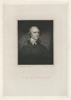 Thomas Grenville, by Thomas Anthony Dean, after  John Hoppner - NPG D34931