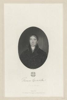 Thomas Grenville, by Camille Manzini - NPG D34933