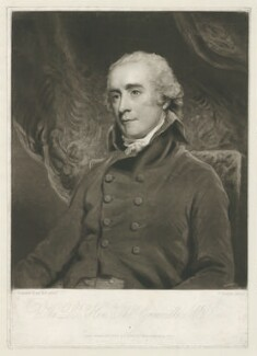 Thomas Grenville, by and published by Charles Turner, after  John Hoppner - NPG D34934