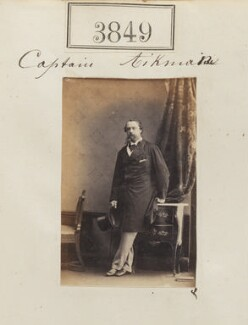 Frederick Robertson Aikman, by Camille Silvy, 23 May 1861 - NPG Ax53240 - © National Portrait Gallery, London