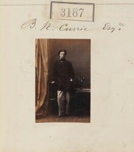 Bertram Wodehouse Currie, by Camille Silvy - NPG Ax52587