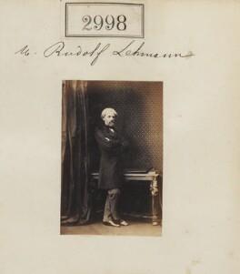 (Wilhelm Augustus) Rudolf Lehmann, by Camille Silvy - NPG Ax52401