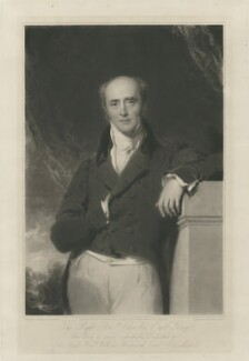 Charles Grey, 2nd Earl Grey, by Samuel Cousins, published by  Martin Colnaghi, after  Sir Thomas Lawrence - NPG D34950