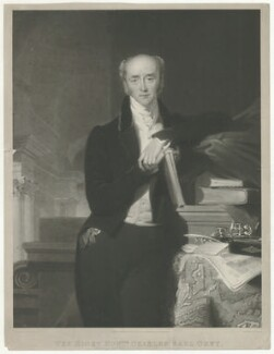 Charles Grey, 2nd Earl Grey, by William Say, published by  Ackermann & Co, after  Frederick Richard Say - NPG D34954