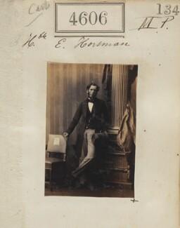 Edward Horsman, by Camille Silvy - NPG Ax54618