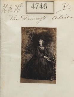 Princess Alice, Grand Duchess of Hesse, by Camille Silvy - NPG Ax54757