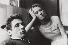 Philip John Sutton with his wife, Heather, by Lord Snowdon - NPG P797(48)