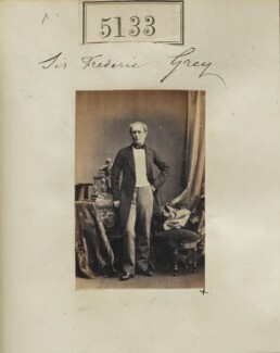 Sir Frederick William Grey, by Camille Silvy - NPG Ax55136