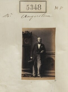William Angerstein, by Camille Silvy, 1 August 1861 - NPG Ax55308 - © National Portrait Gallery, London
