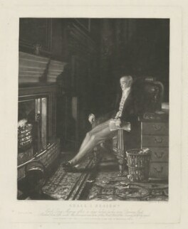 Charles Grey, 2nd Earl Grey ('Shall I Resign?'), by George Raphael Ward, printed by  Dixon & Ross, published by  Sir Francis Graham Moon, 1st Bt, after  Benjamin Robert Haydon - NPG D34956