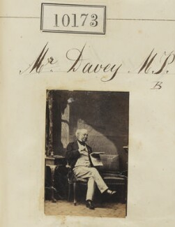 Richard Davey, by Camille Silvy - NPG Ax59888