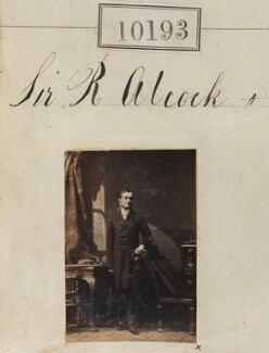 Sir (John) Rutherford Alcock, by Camille Silvy - NPG Ax59908