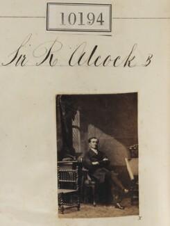 Sir (John) Rutherford Alcock, by Camille Silvy - NPG Ax59909