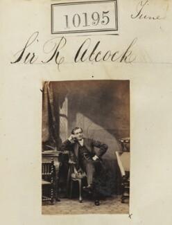 Sir (John) Rutherford Alcock, by Camille Silvy - NPG Ax59910