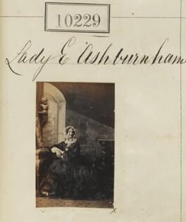 Lady Elizabeth Sophia Ashburnham, by Camille Silvy - NPG Ax59944