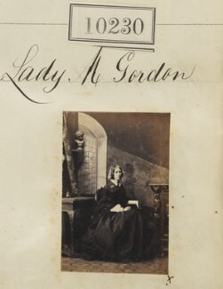 Lady Mary Agnes Blanche Gordon (née Ashburnham), by Camille Silvy - NPG Ax59945