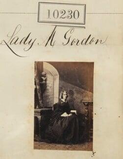 Lady Mary Agnes Blanche Gordon (née Ashburnham), by Camille Silvy - NPG Ax59945